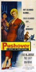Pushover 1954 DVD - Fred MacMurray / Philip Carey